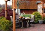 Five Piece Garden Poly Dining Set - Quick Ship