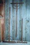 Amish Old-Fashioned Wooden Rake