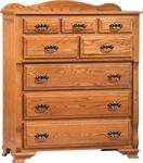 Deluxe Bureau Chest of Drawers