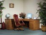 Amish Highland Corner L-Desk