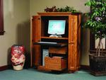 Amish Heirwood Computer Armoire Desk