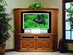 Traditional Corner Entertainment Center