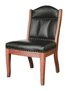 Amish Low Back Side Chair