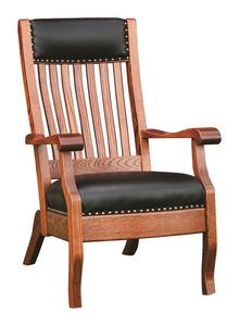 Amish-Made Queen Lounge Chair