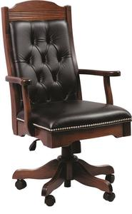 Starr Amish Executive Arm Chair with Gas Lift