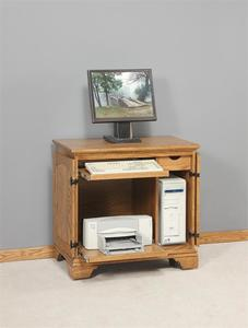 Amish Petite Computer Armoire