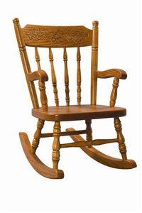 Amish Ladderback Kids' Rocking Chair
