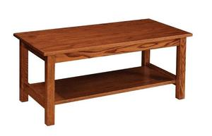 Amish Mission Coffee Table without Slats