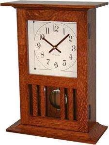 Amish Mission Mantel Clock