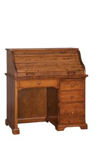 Amish Petite Roll Top Desk