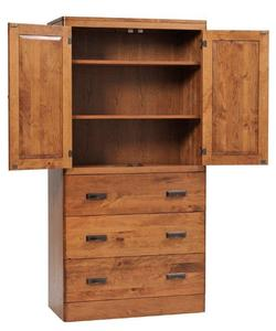 Amish Crossan Armoire