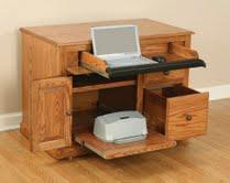 Amish Shaker Laptop Credenza Desk