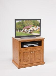 """Amish 30"""" TV Stand with Doors"""