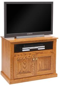 """Amish 36"""" TV Stand with Doors"""