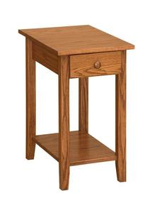 Amish Open Chairside Shaker End Table