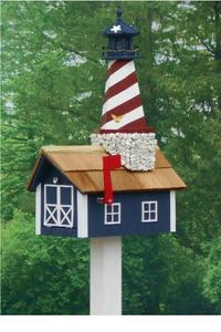 Amish Cape Hatteras Lighthouse Mailbox