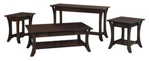 Amish Alsace Sofa Table