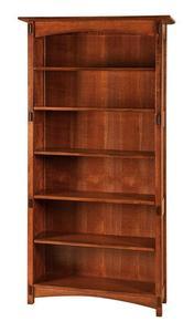 Amish Lucern Mission Bookcase