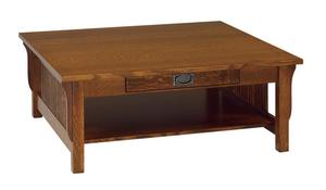 Amish Lancaster Mission Square Coffee Table