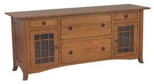 Amish Shaker Hill Credenza