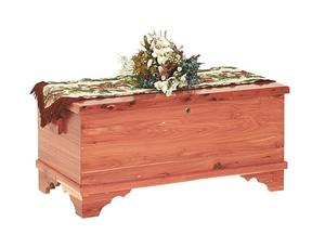 Amish Barossa Small Flat Top Cedar Hope Chest