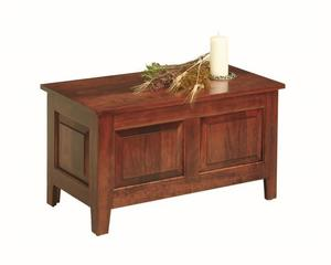 Amish Casco Small Cherry Wood Shaker Style Hope Chest