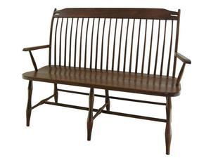 Classic Birdcage Windsor Amish Bench