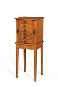 Amish Mission Jewelry Chest Stand