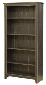 Amish Primitive Pine Bookcase 6'