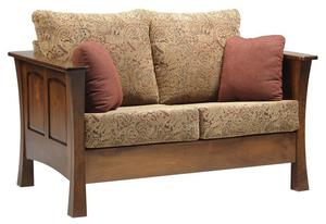 Amish Woodbury Loveseat