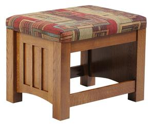 Amish Mount Hope Mission Upholstered Ottoman