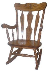 Amish Daisy Kids' Rocking Chair