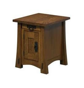 Amish Large Montana Mission End Table