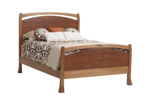 Amish Oasis Panel Bed