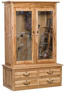 American Bow Hunter Double Door Gun Cabinet