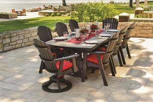 Berlin Gardens Orchid Outdoor Poly Dining Set
