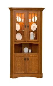 Amish Mission Corner Hutch