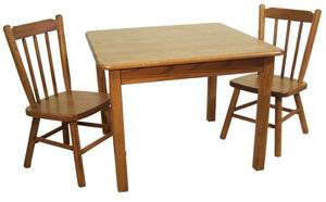 "Amish Child's Dining Room Table - 28"" Square"