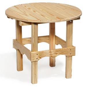 Amish Leisure Lawns Wooden Outdoor Side Table