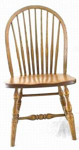 Amish Nine-Spindle Windsor Dining Room Chair
