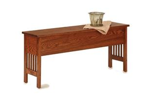 American Mission Small Storage Bench