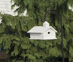 Amish Made Church Bird House