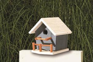 Amish Garden Bird House with Porch