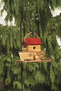 Amish Noah's Ark Garden Bird House