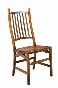Amish Appalachian Cherry Wood Dining Chair