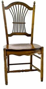 Amish Ohio Sheaf Back Dining Room Chair