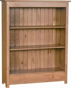Amish Primitive Solid Pine Wood Bookcase