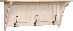 Amish Pine Hanging Wall Shelf 3'