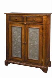 Amish Galloway Shaker Pie Safe with Tin Doors