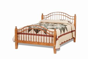 Amish Shaker Windsor Bed